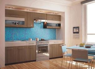 Vybírám si kuchyňku, zatím stačí sektorová dokud nebude jádro.... buď tato varianta barev..
