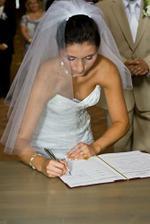 ... podpis nevěsty ...