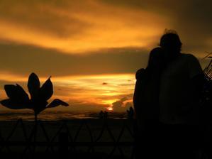 ... trocha romantiky při západu slunce :o))) ...