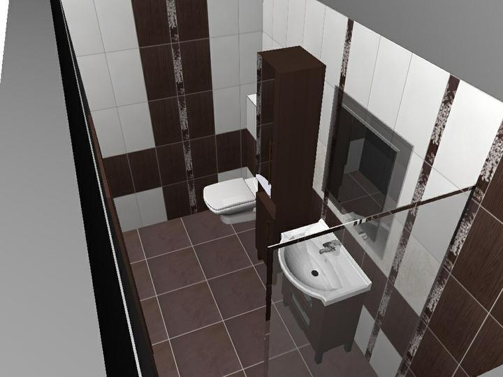 Od návrhu k realizaci koupelny - ve sprše se mi nelíbí listela u skla
