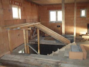 základ pro schody do podkroví, 10.3.12
