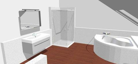 návrh koupelny v patře pro děti