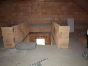 schody z podkroví