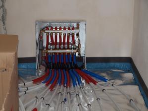 detail v komoře