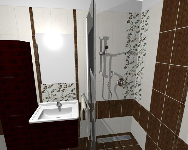Od návrhu k realizaci koupelny - snad konečná verze