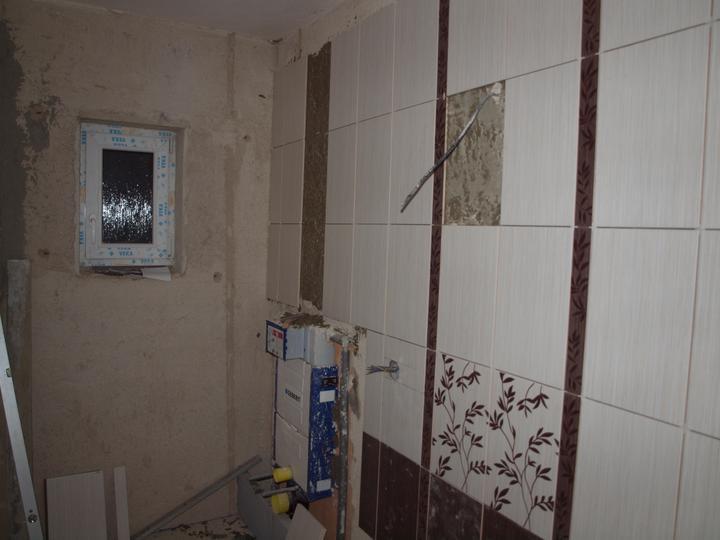 Od návrhu k realizaci koupelny - ještě nakonec dáme dekor nad záchod