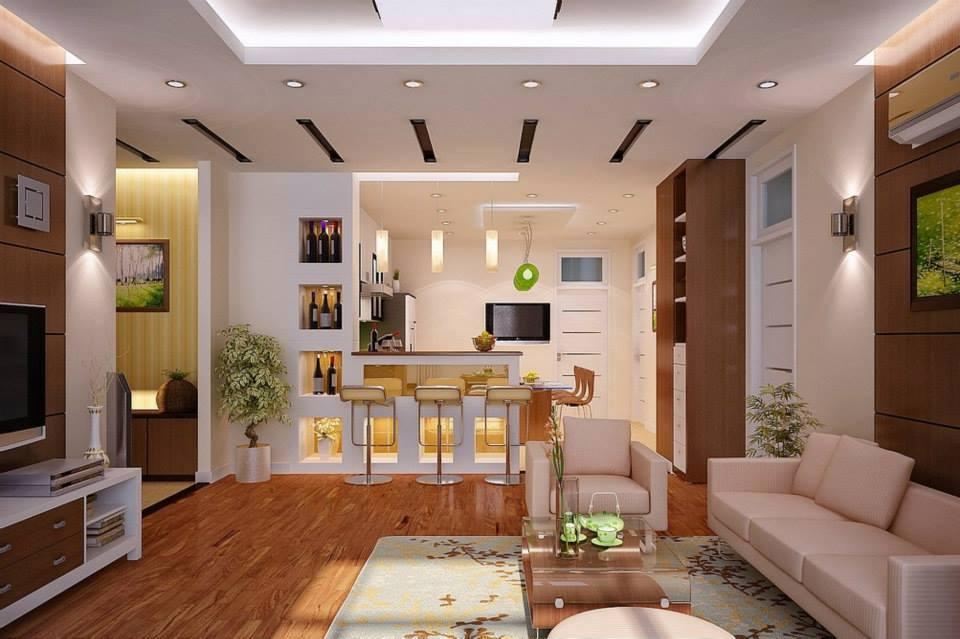 Obývací pokoj s kuchyní a jídelnou - Obrázek č. 78