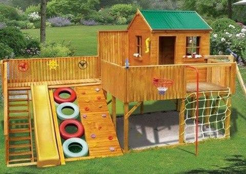 Děti na zahradě, kde si budou hrát? - Obrázek č. 155