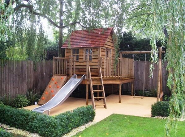 Děti na zahradě, kde si budou hrát? - Obrázek č. 157
