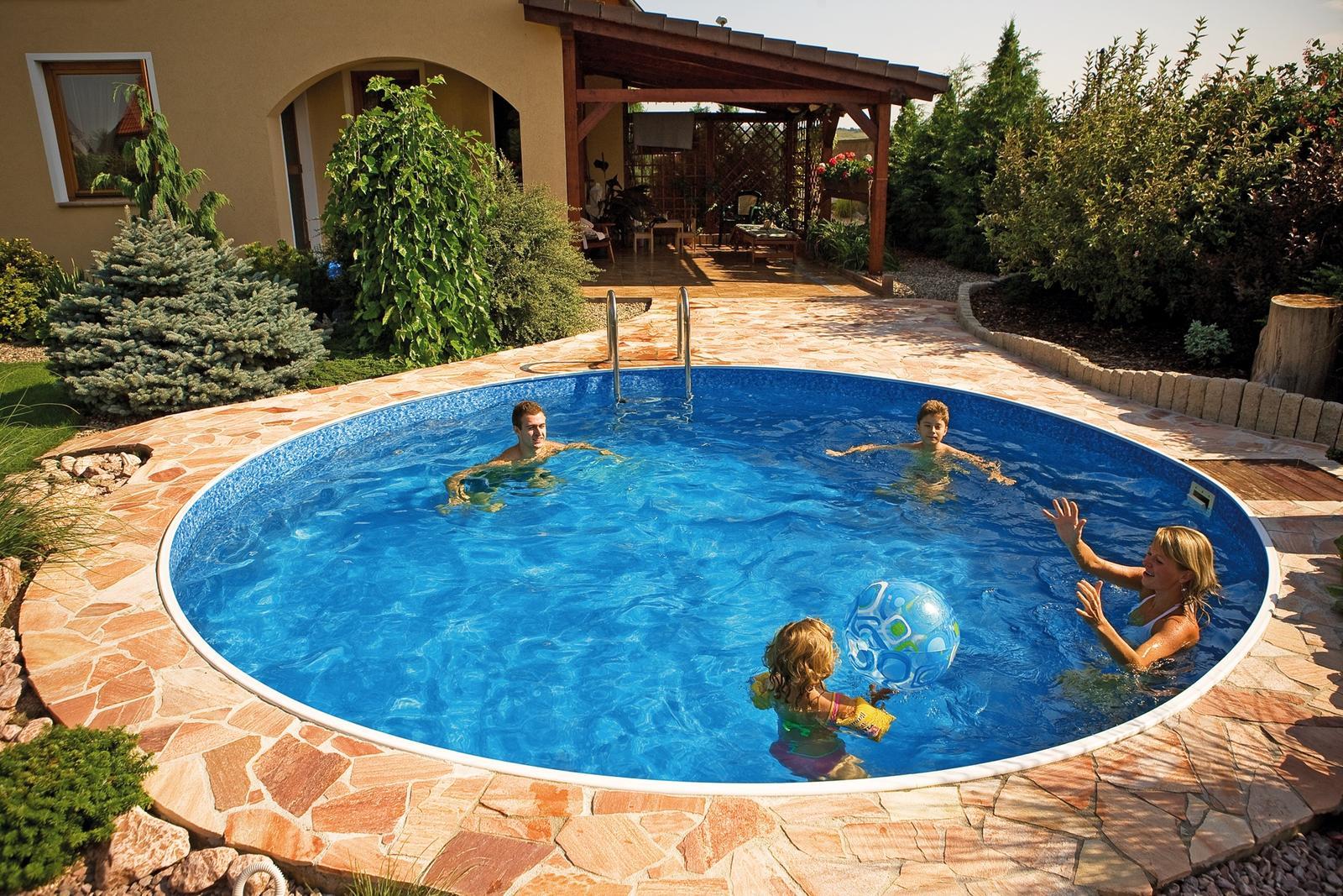Bazén na zahradě - Obrázek č. 1