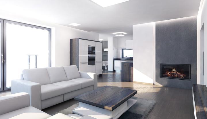 Obývací pokoj s kuchyní a jídelnou - Obrázek č. 157
