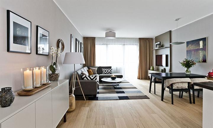 Obývací pokoj s kuchyní a jídelnou - Obrázek č. 188