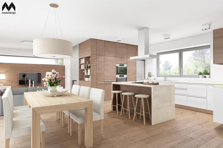 Obývací pokoj s kuchyní a jídelnou - Obrázek č. 219