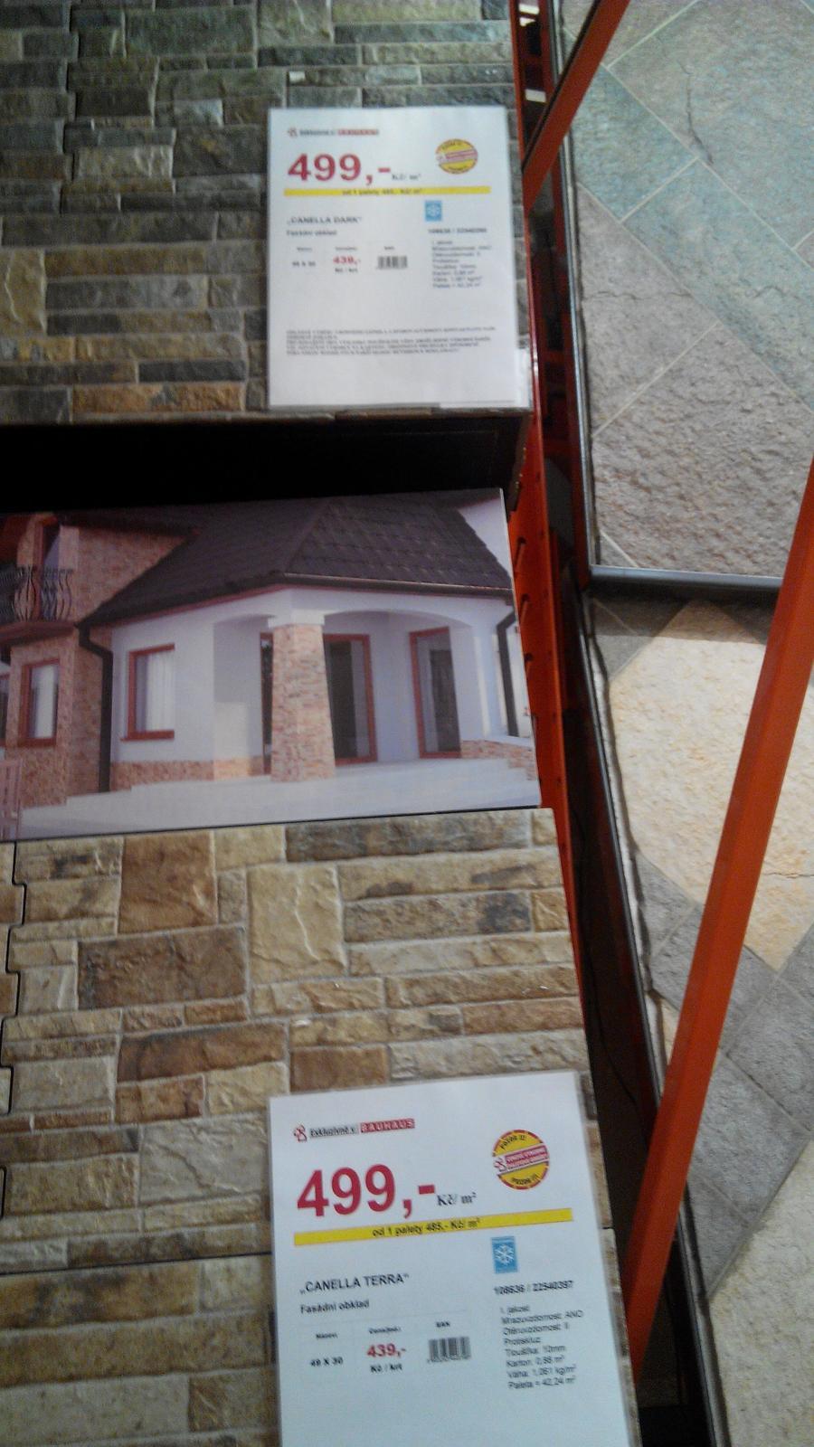Kámen na fasádu a do obýváku - inspirace - Obrázek č. 85
