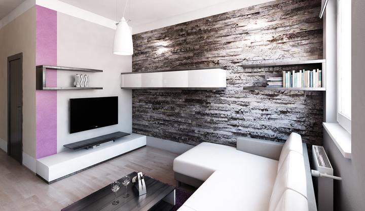 Obývací pokoj s kuchyní a jídelnou - Obrázek č. 424