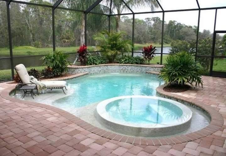 Bazén na zahradě - Obrázek č. 43