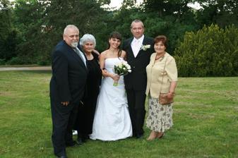 prarodiče nevěsty