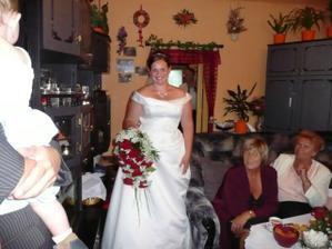 po příjezdu ženicha