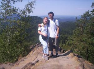Svatební cesta v Českém Švýcarsku