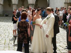 předávání nevěsty