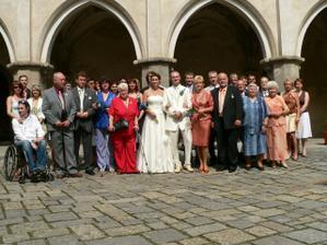 svatebčané - kamarádi nám skoro všichni utekli