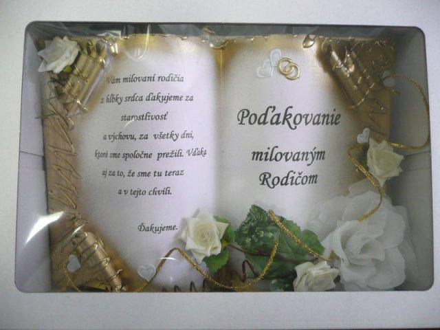 Náš deň 5.september 2009 - poďakovanie rodičom