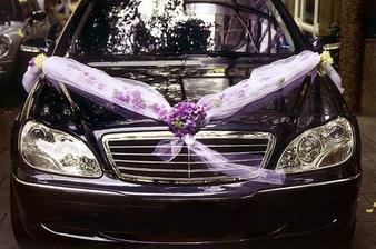 ...ozdoba na auto, jen ten tyl bude bílý a na kapotě bude srdce z bílých růží