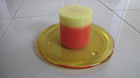 predám tanierik so sviečkou - Obrázok č. 1