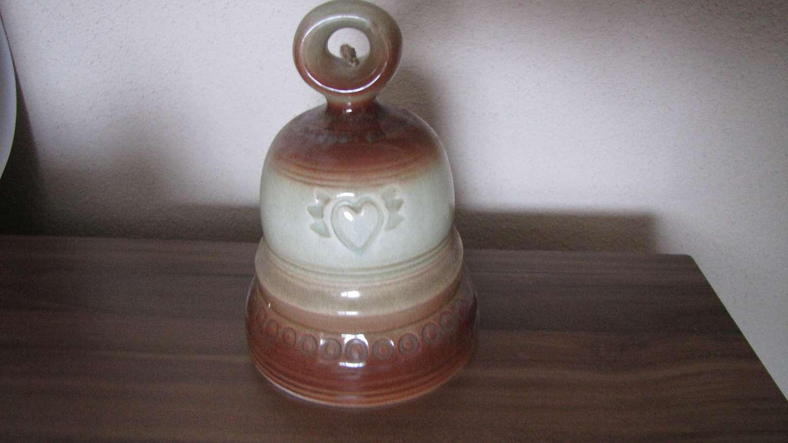 keramický zvonček - Obrázok č. 1