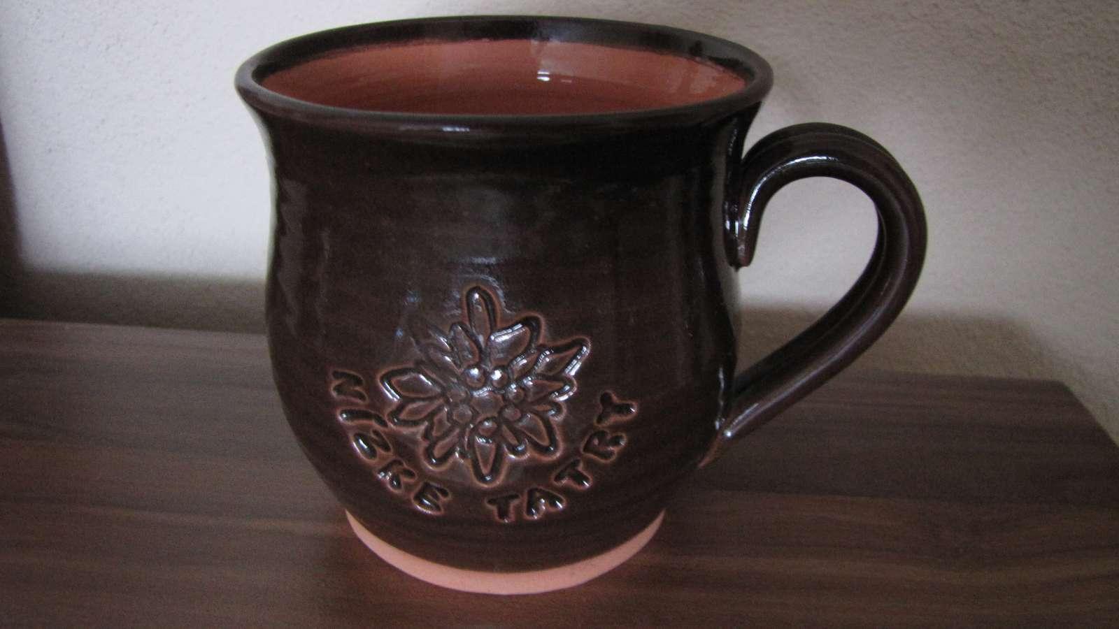tatranský hrnček hlinený - Obrázok č. 1