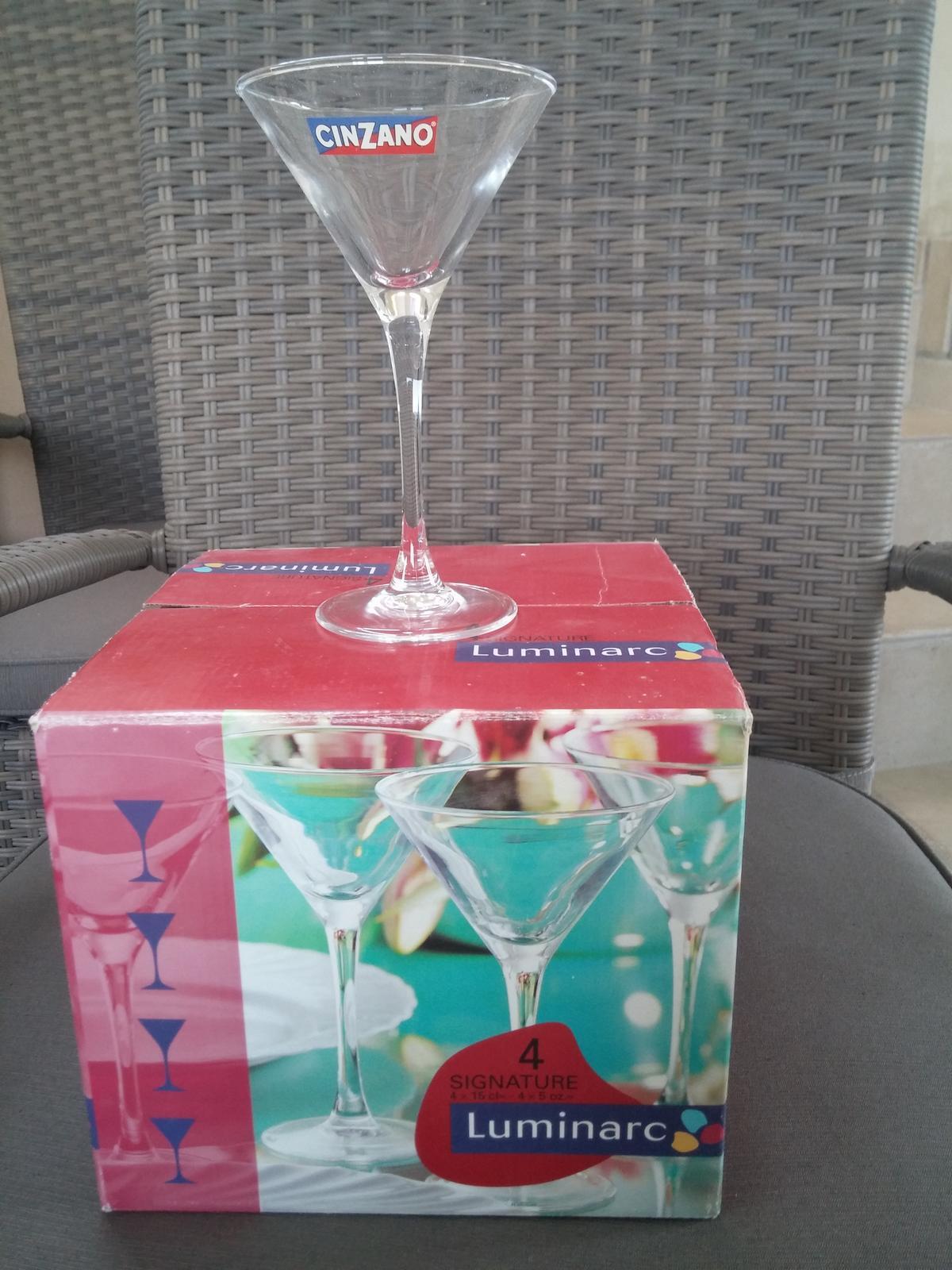 poháre cinzano - Obrázok č. 1