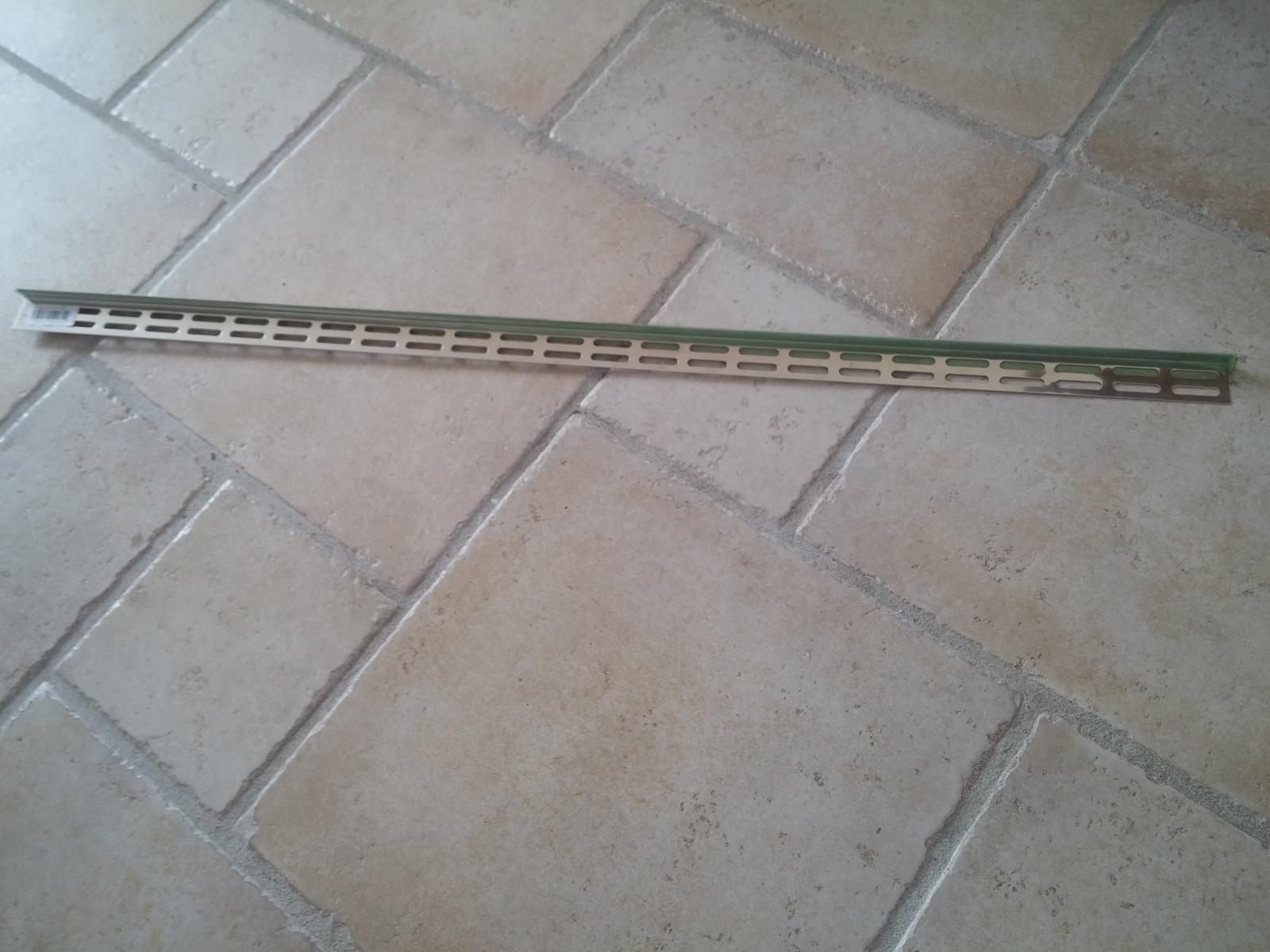 spádovacia lišta ľavá/100cm - Obrázok č. 1