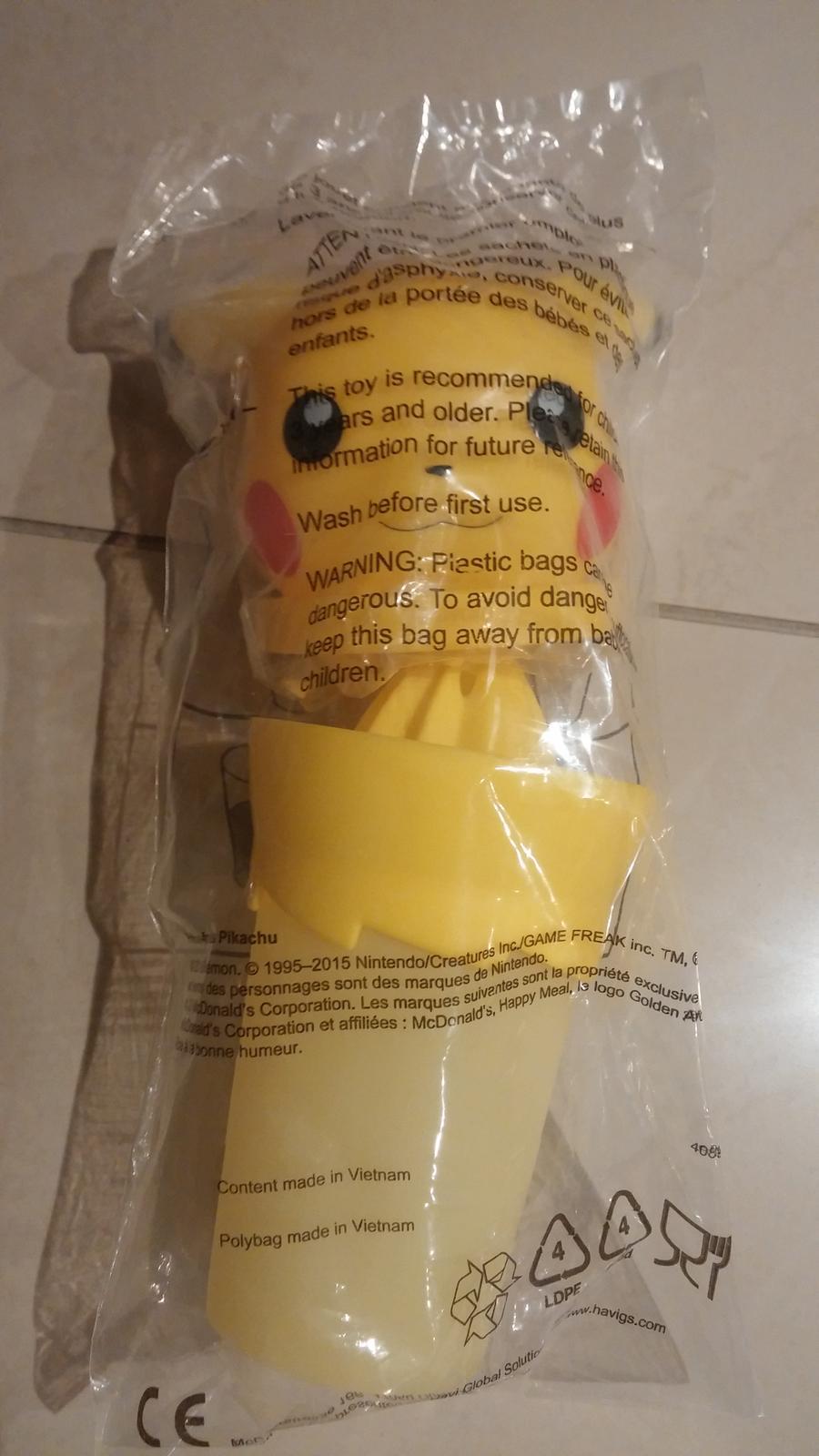 rucny odstavovac pikachu - Obrázok č. 1