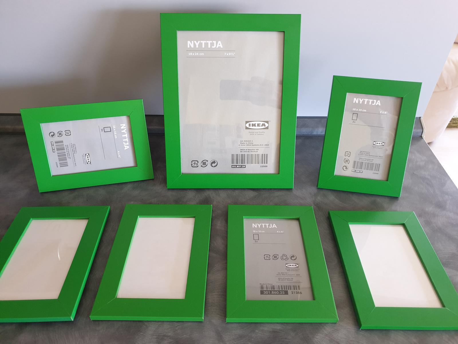 set fotorámikov Ikea - Obrázok č. 1