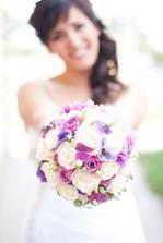 moja svadobná kytica, bola nádherná :)