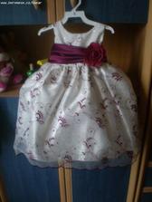 šaty pro Verunku-družičku