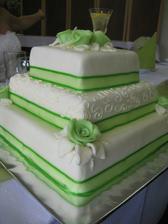 náš dortík byla tp mňamka