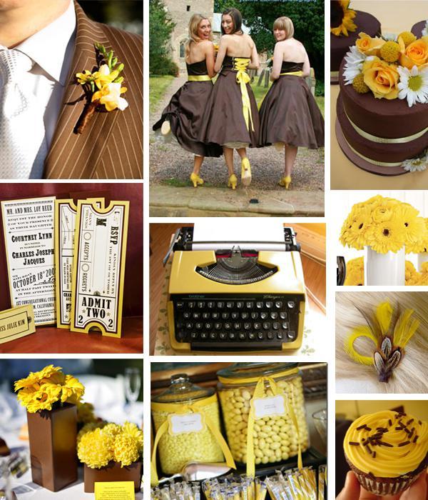 Inspirace v hnědé a žluté - Obrázek č. 52