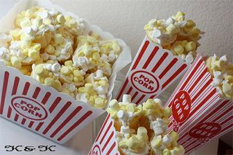 cupcakes ve tvaru popcornu, vtipné:-)