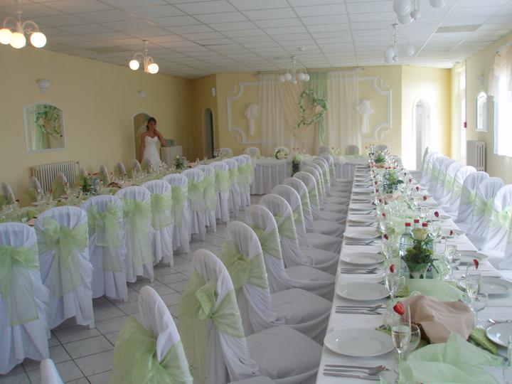 Naše svadobné prípravy :-)) - sestrina sála :-) nádherna :-)