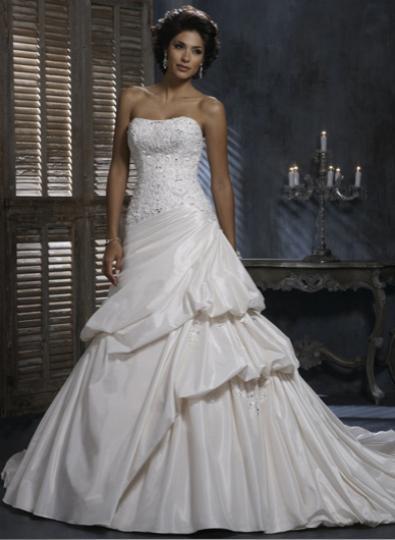 Naše svadobné prípravy :-)) - Tifany na modelke