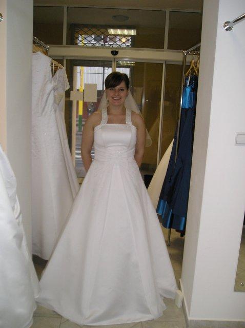 Moje prípravy - šaty s ramienkom