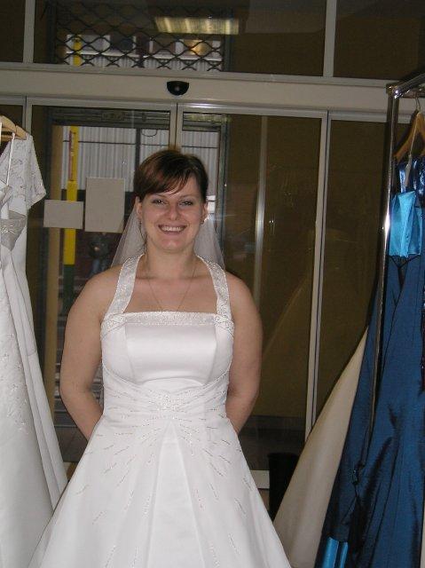 Moje prípravy - šaty -  širšie ramienka