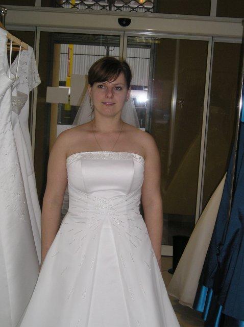 Moje prípravy - tie isté šaty bez ramienka