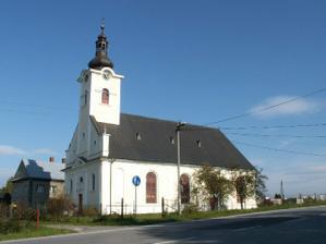 Kostel pohled 1