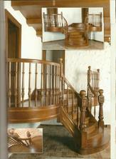 vyřezávané schodiště