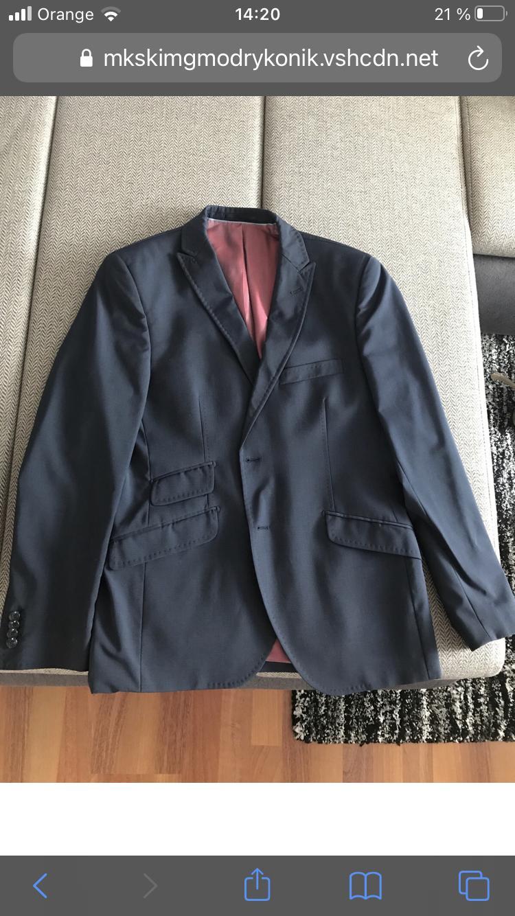 pánsky oblek s nohavicami - Obrázok č. 1