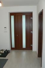 Vchodové dveře zevnitř  zádveří