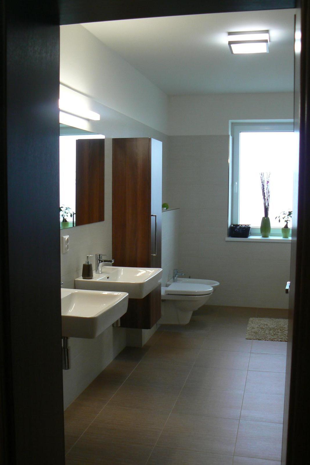 A začíná další nová životní etapa ..... - Koupelna - pokus o jednoduchost, čistotu, harmonii, přírodu a relax v jednom