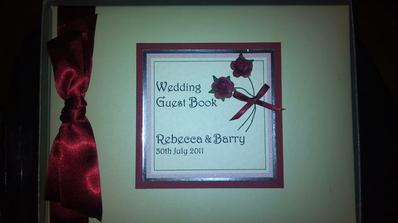 our guest book, I love it and would definitely recommend the company